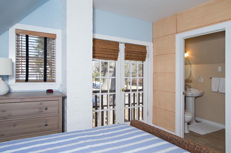 FEEL THE BREEZE FROM THE FRENCH DOORS