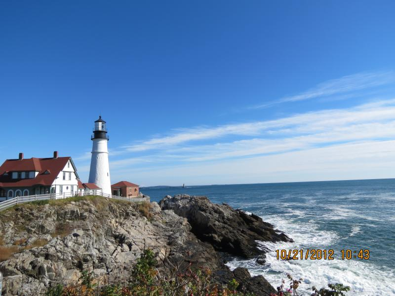 Nearby Portland Head Lighthouse--short driving distance