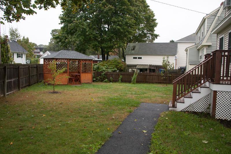 Front yard with Gazebo