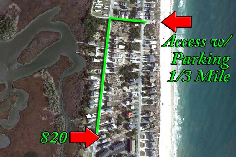 Beach Access with Parking