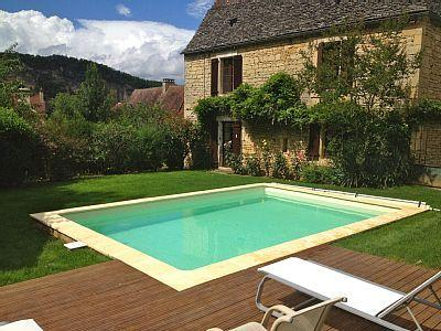 Main house with pool