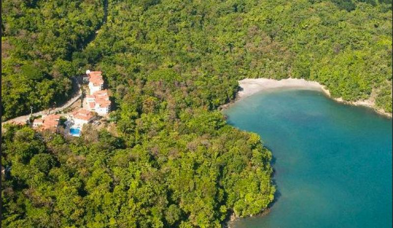 Aerial of Shana w/ Playa Bisanz