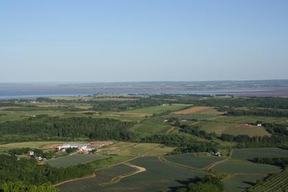Vista desde el 'Lookoff' está cerca su bastante la vista.