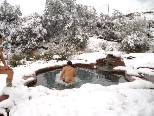 Have a little dip if you brave in winter!