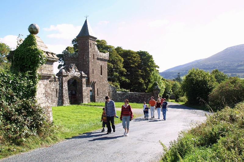 The Gate Lodge near the lodges. great walking area