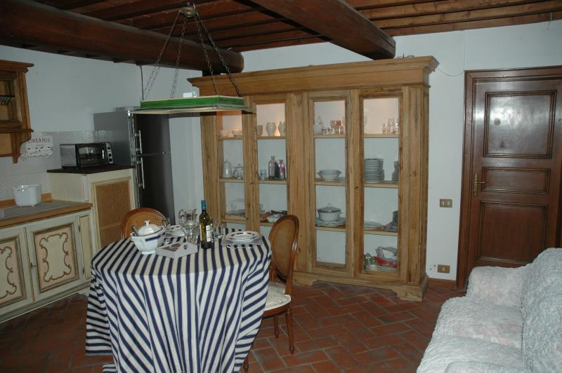 Living room with Cupboard