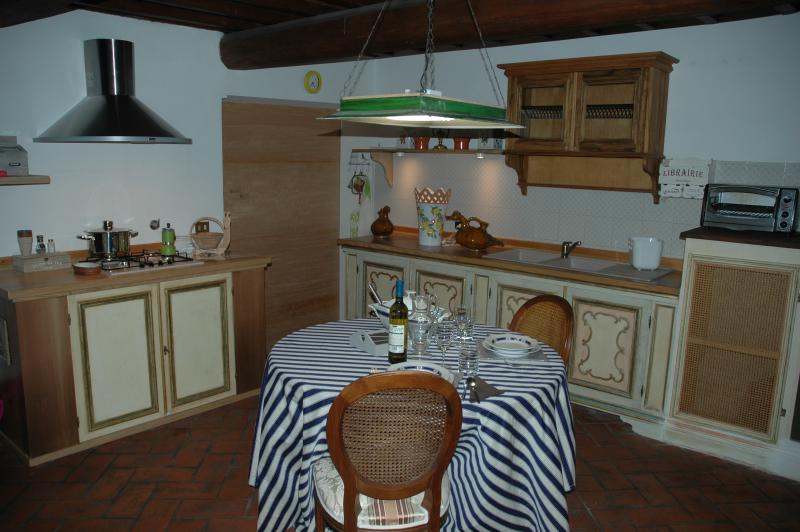 Lounge and stove