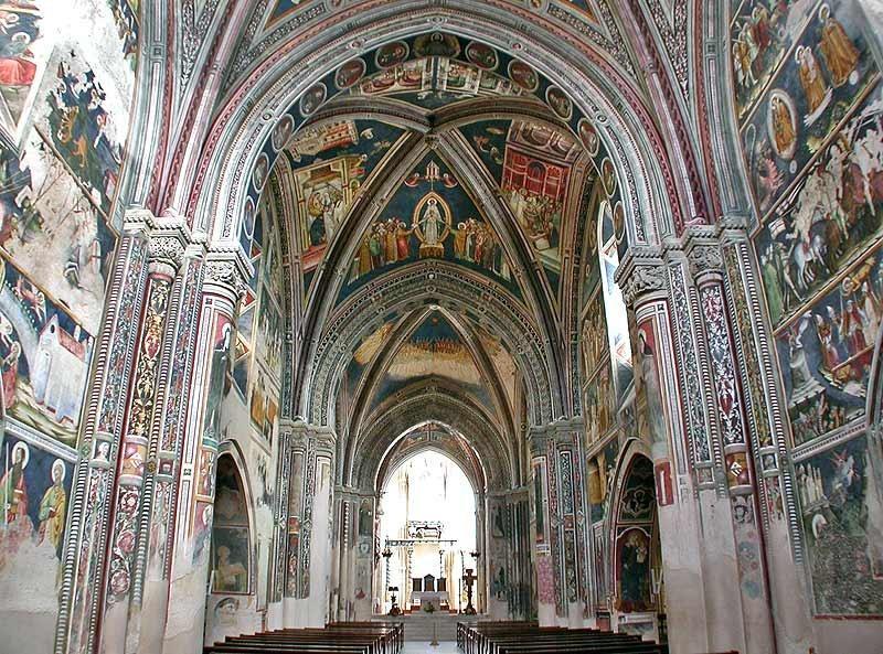 Inside The Basilica Santa Caterina