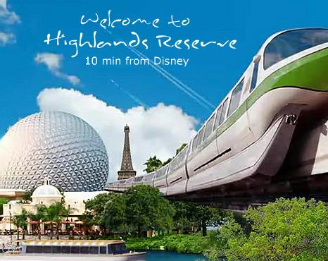 Welcome to Highlands Reserve Disney World