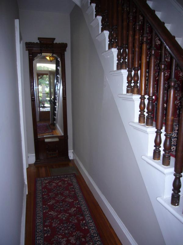 Front Entry Hall & Front Staircase (2nd staircase off kitchen)