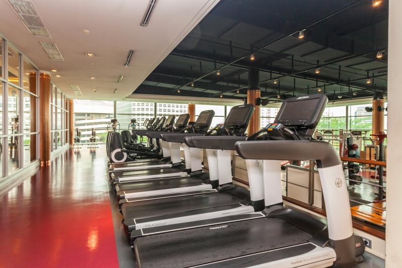 Un centre de fitness (THB 535 Accès quotidien)