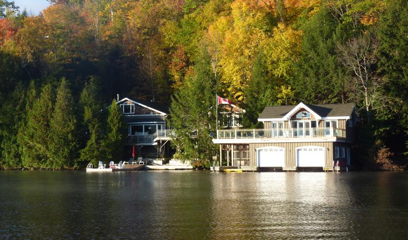 lake joseph muskoka cottage rental has balcony and patio updated rh tripadvisor com