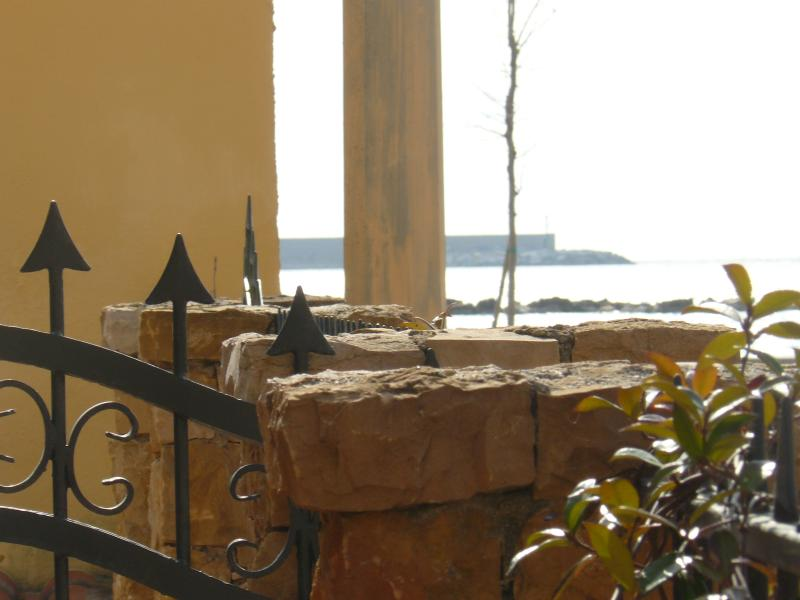 Sea view from home wall