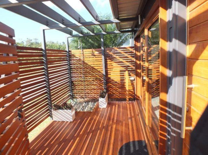 Lower Level - Outdoor Area with Outdoor Shower