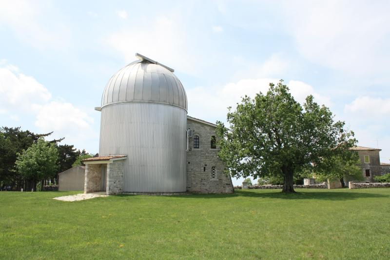 Astronomic center near Višnjan