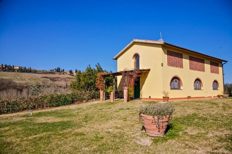 Podere IL FALCO Chianti region, holiday rental in Tavarnelle Val di Pesa