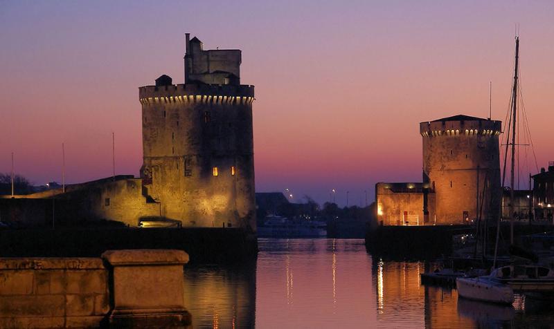 Le Vieux Port et ses deux Tours