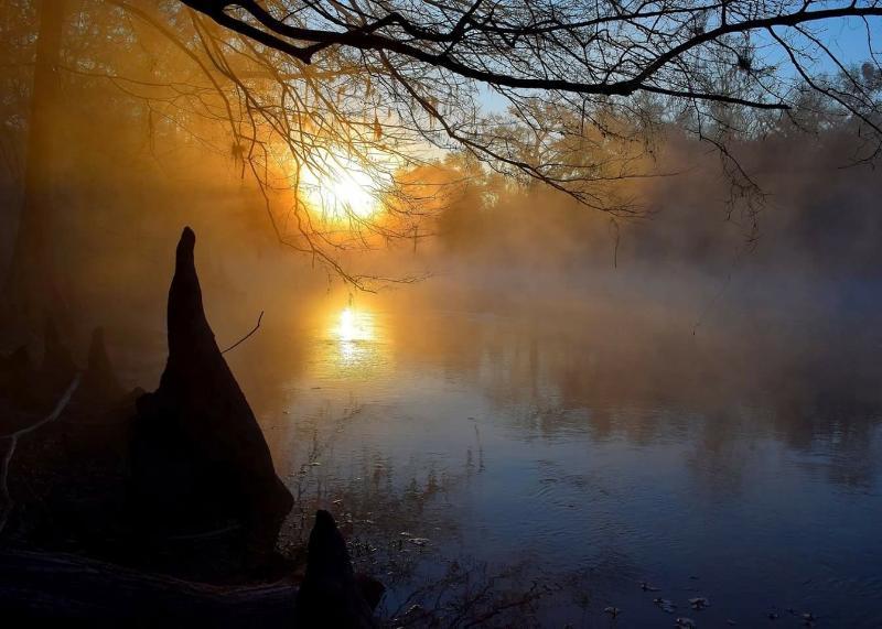 Santa Fe River sunrise