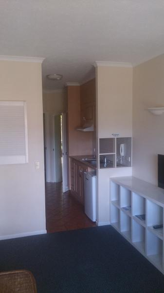 View to kitchen, everything for a short comfortable stay or even a few weeks