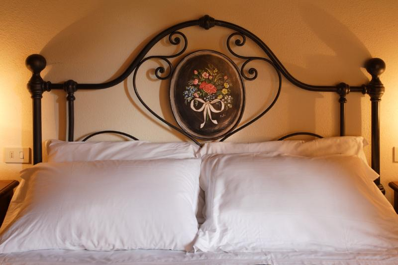 Hand made iron bed