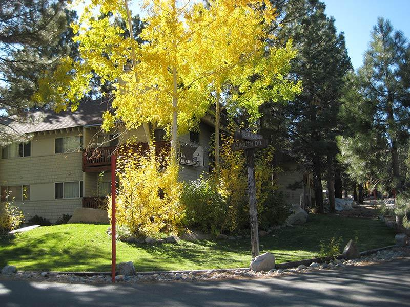 La Residence in the Fall