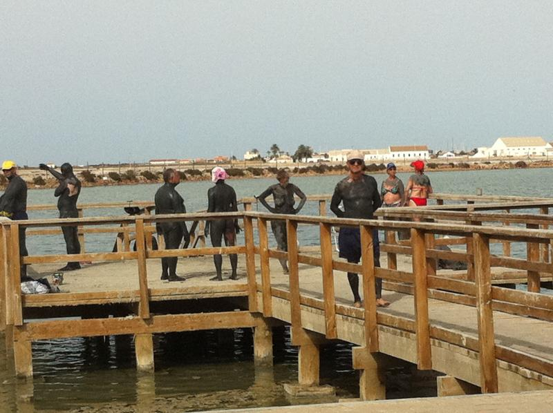 The Healing and Theraputic World Famous Mar Menor Mud baths ! Absolutely FREE to all !