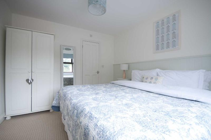 Ground floor - bedroom with 6' bed or can be twins, ensuite too