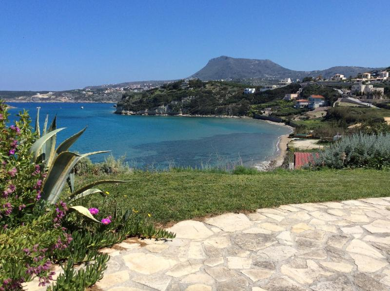 Superb views from the front terrace