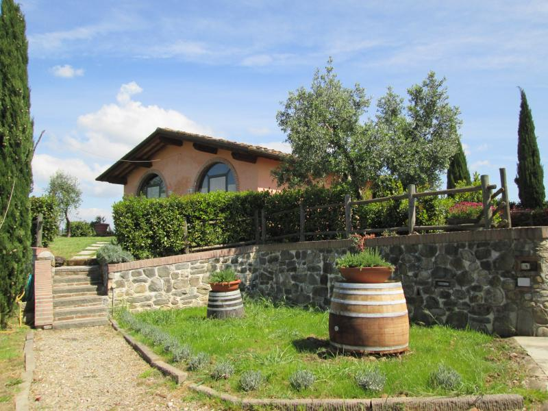 Farmhouse near Florence and Pisa, holiday rental in Spicchio-Sovigliana