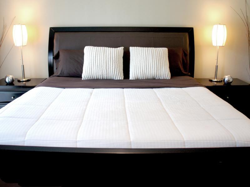 Le maître lit avec King Premium matelas mousse mémoire - Aucune pression