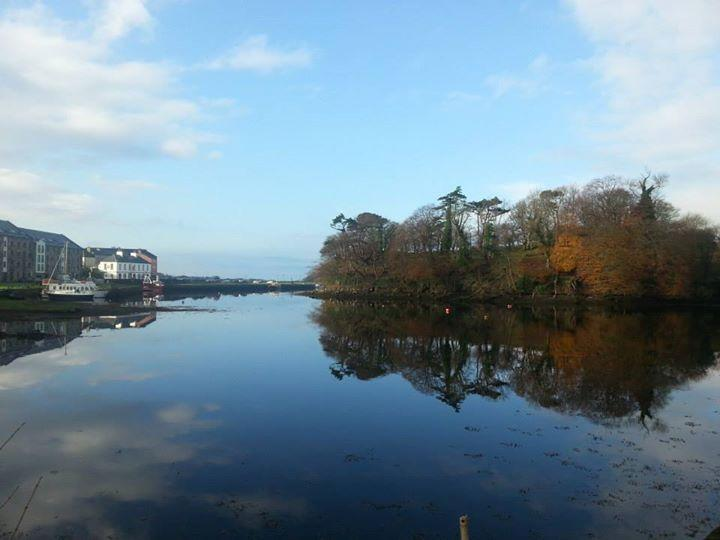The quay from Westport House