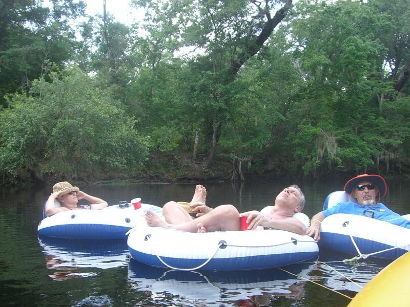 Tubing the Santa Fe River