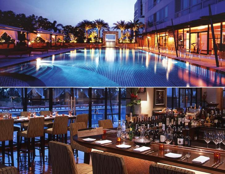Aldo Mediterranean Restaurant avec vue sur la piscine