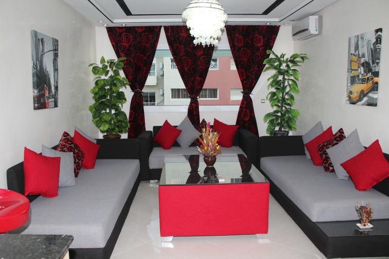 JB Apartment luxe, alquiler de vacaciones en Región de Rabat-Salé-Zemur-Zaer