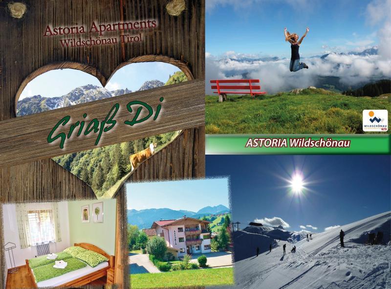 Ferienwohnung Astoria Wildschoenau Tirol Apartments in den Kitzbueheler Alpen Tirol