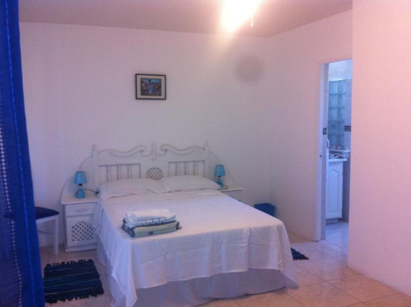 Comfortable, clean bedroom with ensuite bathroom