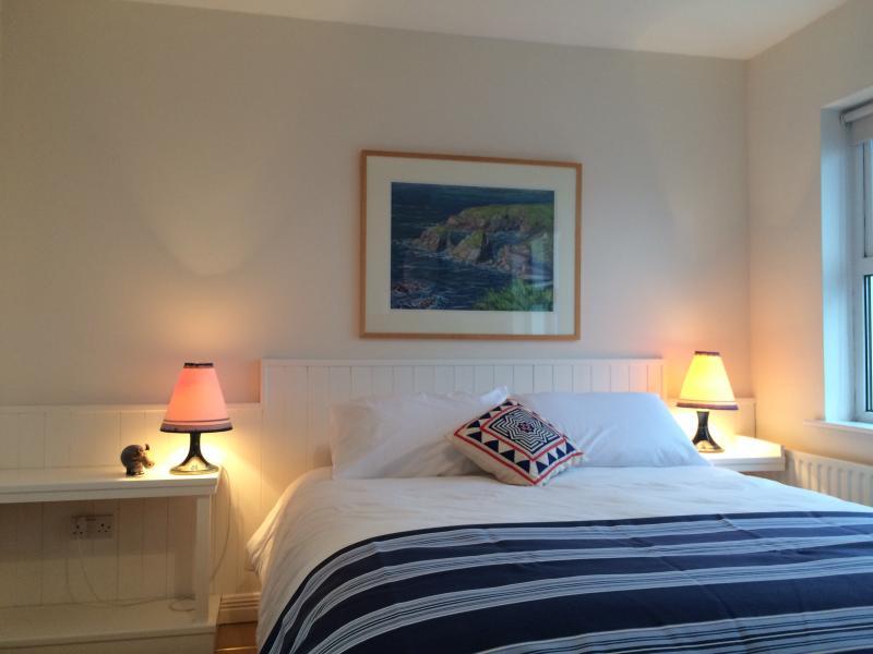 Seaview bedroom with ensuite