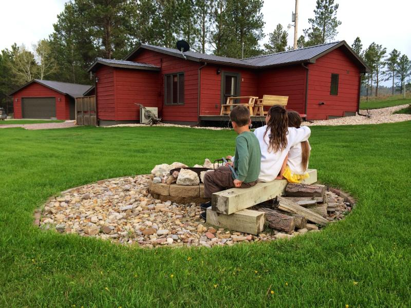 Enjoy the Hills at your own fire pit. Watch the kids play or listen to the frogs and kick back.