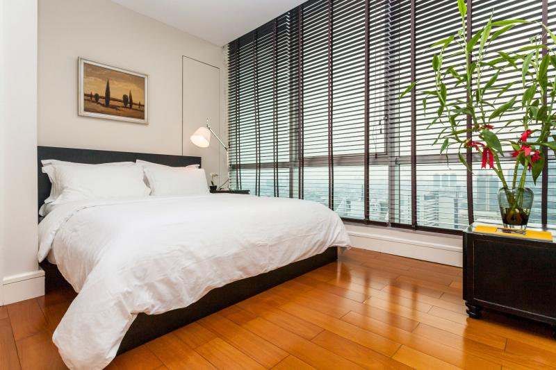 Open Plan BEDROOM connected to the living room