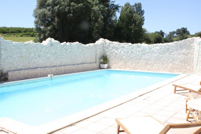Beautiful12m long private pool with stunning views