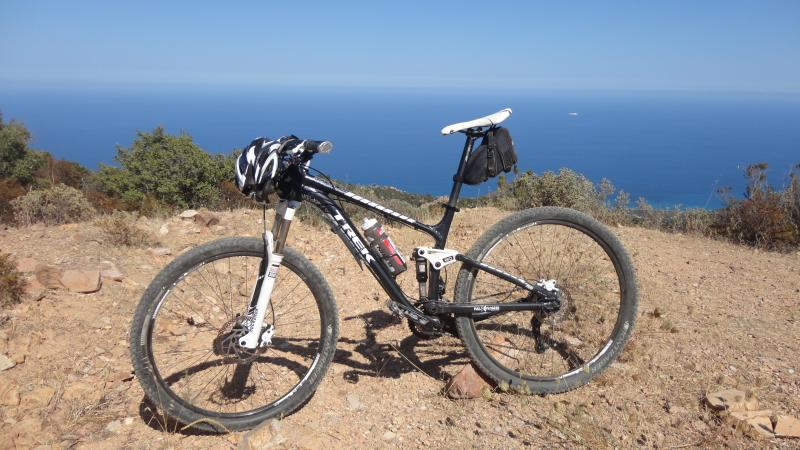 Mountain Bike Da Coccoroci a 650 mt slm