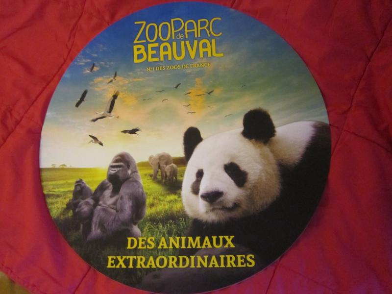 Our Gîte 'La Chandomière' is an hour from the Park of Beauval zoo, first safaripark de France