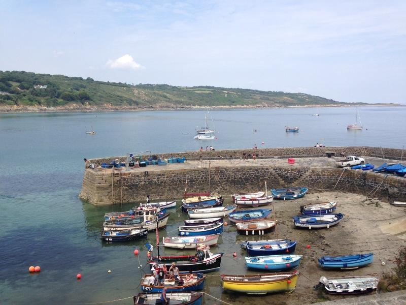 The pretty fishing village of Coverack, located nearby
