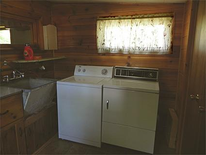 Laundry Room Enjoy the convenience of a washer/ dryer