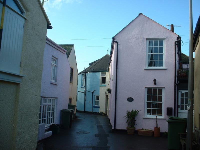 Shaldon has fascinating narrow streets, making walking a pleasure for everyone.