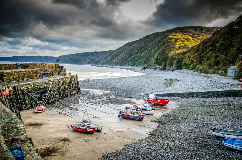 Nearby, picturesque Clovelly harbour, just a short drive away.
