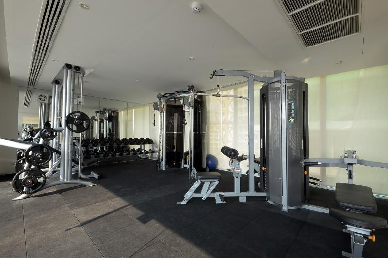 Gym with top of the range equipment