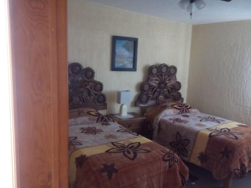 All bedrooms furnished with twin beds. We can arrange Full Bed in one room if needed.