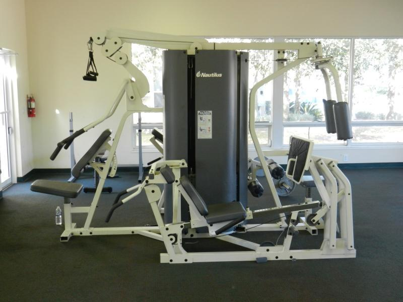 Nautilus fitness circuit in the Club House