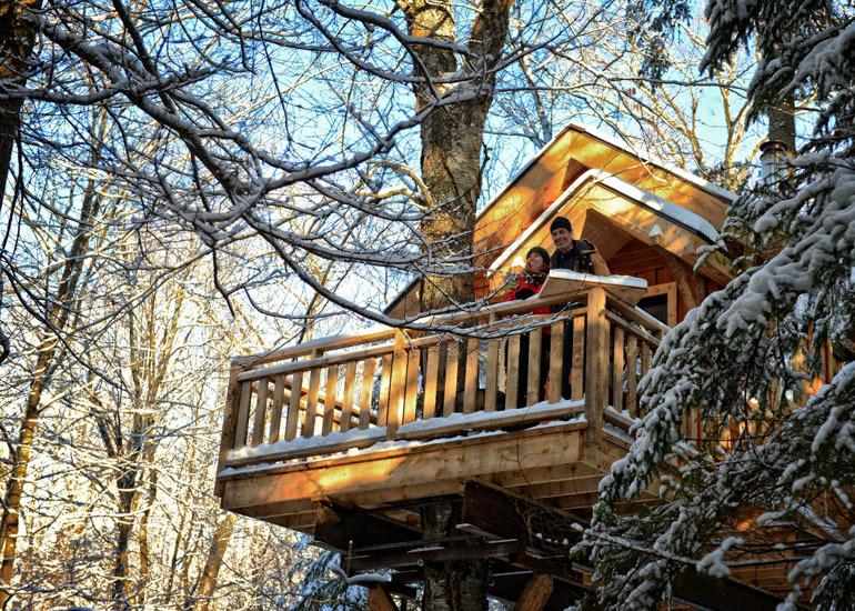 4-season treehouses